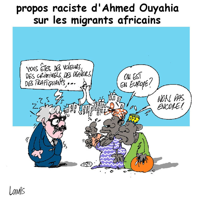 Propos raciste d'Ahmed Ouyahia sur les migrants africains