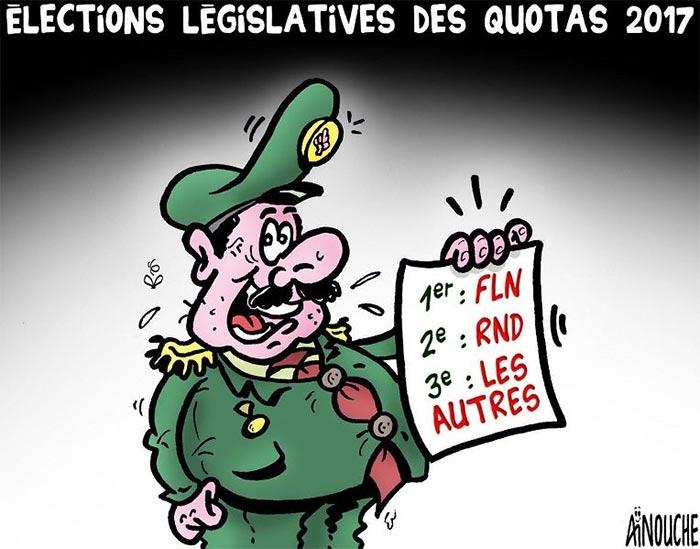 Elections législatives des quotas 2017
