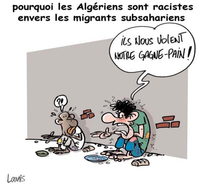 Pourquoi les Algériens sont racistes envers les migrants subsahariens