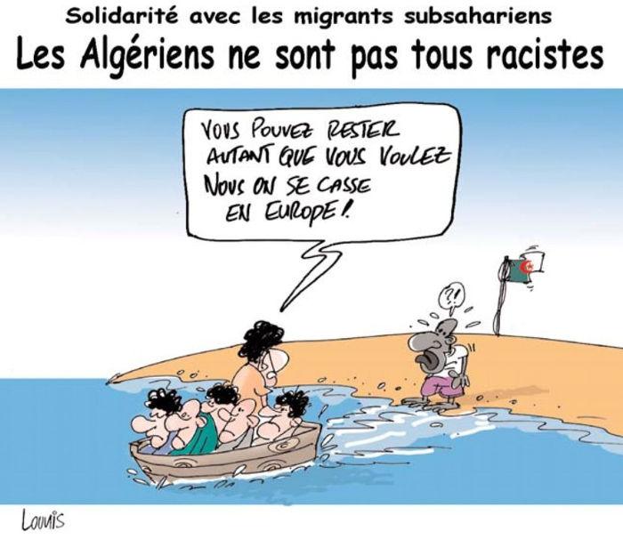 Solidarité avec les migrants subsahariens: Les Algériens ne sont pas tous racistes