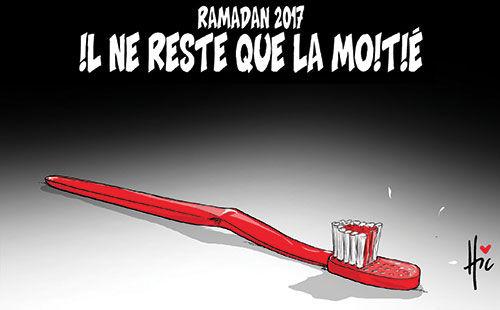 Ramadan 2017: Il ne reste que la moitié