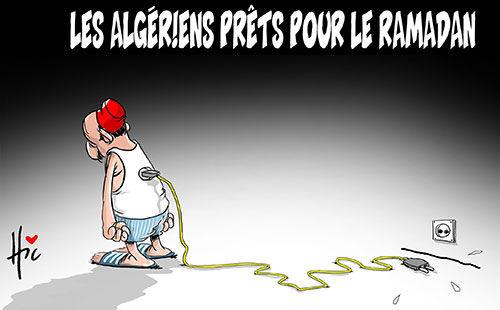 Les Algériens prêts pour le ramadan