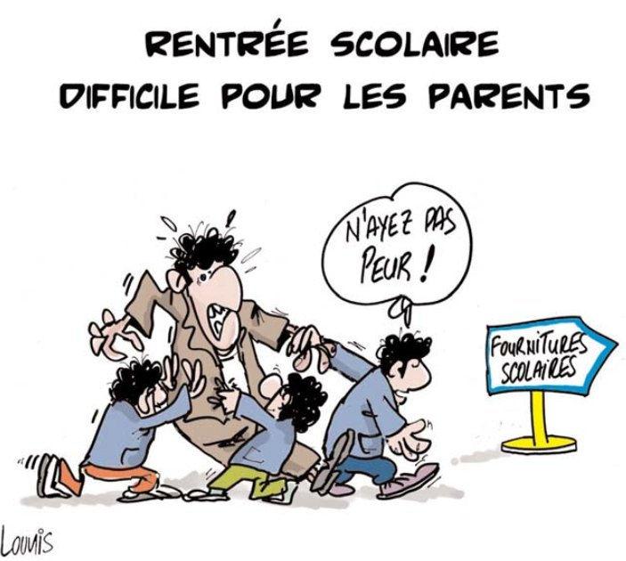 Rentrée scolaire difficile pour les parents