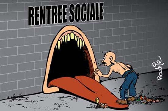 Rentrée sociale