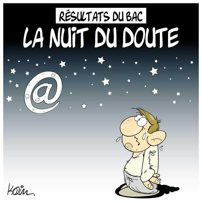 Résultat du bac: La nuit du doute