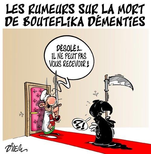 Les rumeurs sur la mort de Bouteflika démenties