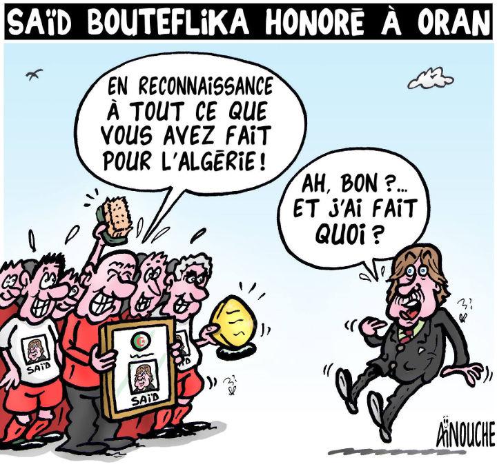 Saïd Bouteflika honoré à Oran