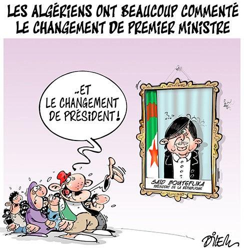 Les Algériens ont beaucoup commenté le changement de premier ministre