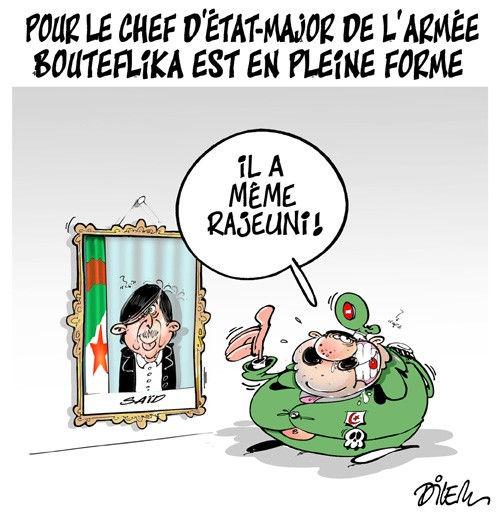 Pour le chef d'état-major de l'armée Bouteflika est en pleine forme