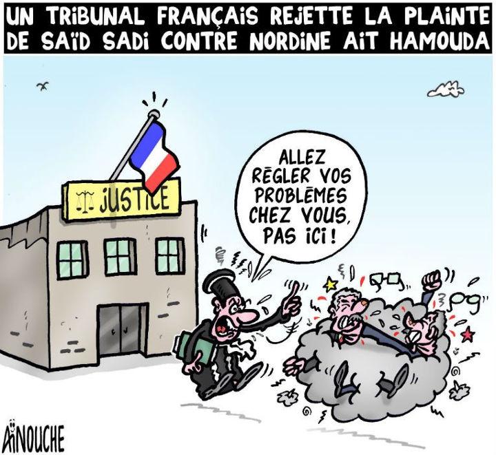 Un tribunal français rejette la plainte de Sïd Sadi contre Nordine Aït Hamouda