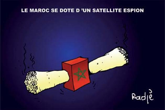 Le Maroc se dote d'un satellite espion