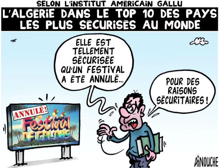 Selon l'institut américain Gallu: L'Algérie dans le top 10 des pays les plus sécuriosés au monde