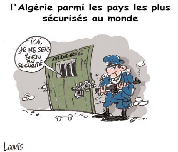 L'Algérie parmi les pays les plus sécurisé au monde