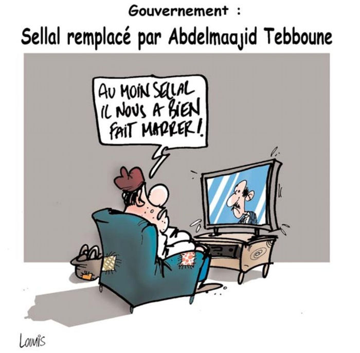 Gouvernement: Sellal remplacé par Abdelmadjid Tebboune