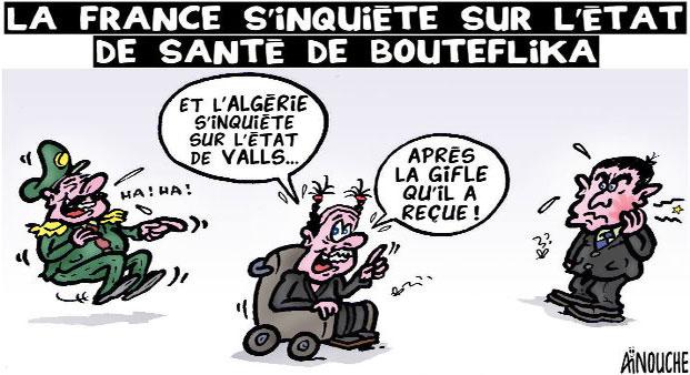 La France s'inquiéte sur l'état de santé de Bouteflika