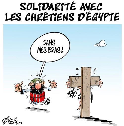 Solidarité avec les chrétiens d'Egypte