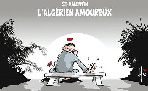 St-Valentin: L'algérien amoureux