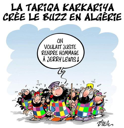 La tariqa karkariya crée le buzz en Algérie