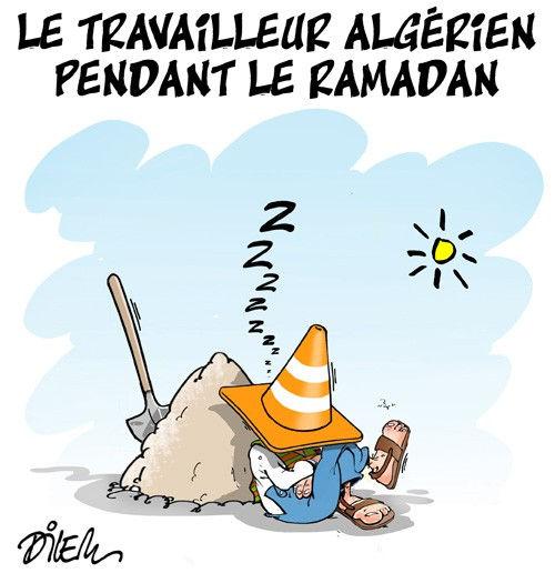 Le travailleur algérien pendant le ramadan