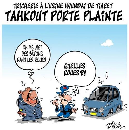 Tricherie à l'usine Hyundai de Tiaret: Tahkout porte plainte