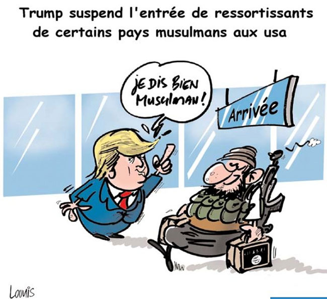 Trump suspend l'entrée de ressortissants de certains pays musulmans aux USA