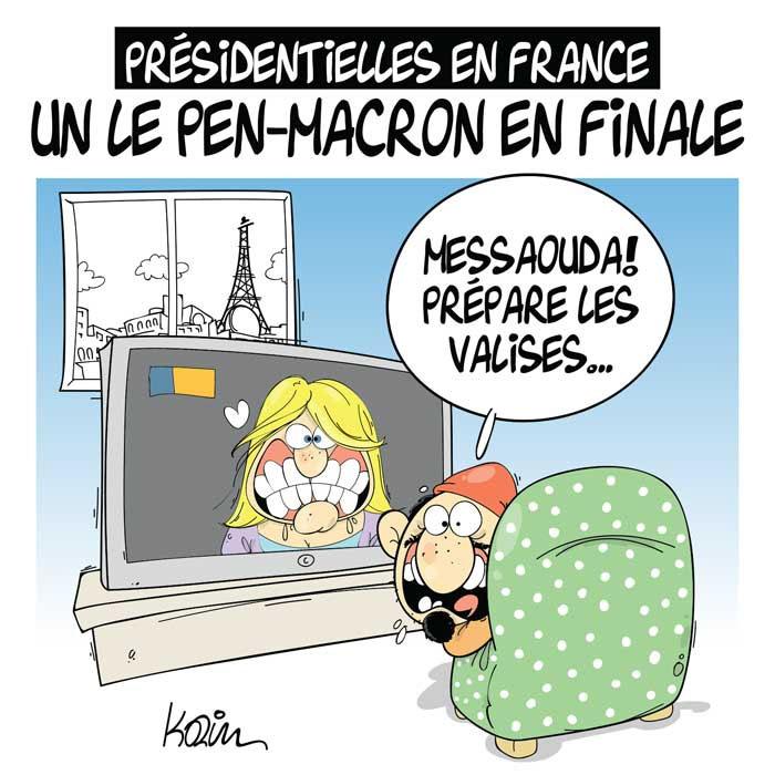 Présidentielles en France: Un Le Pen-Macron en finale