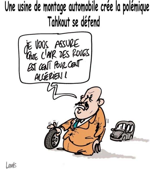Une usine de montage automobile crée la polémique: Tahkout se défend