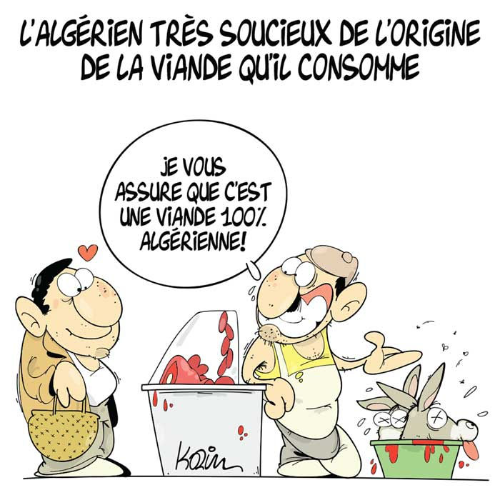 L'algérien très soucieux de l'origine de la viande qu'il consomme