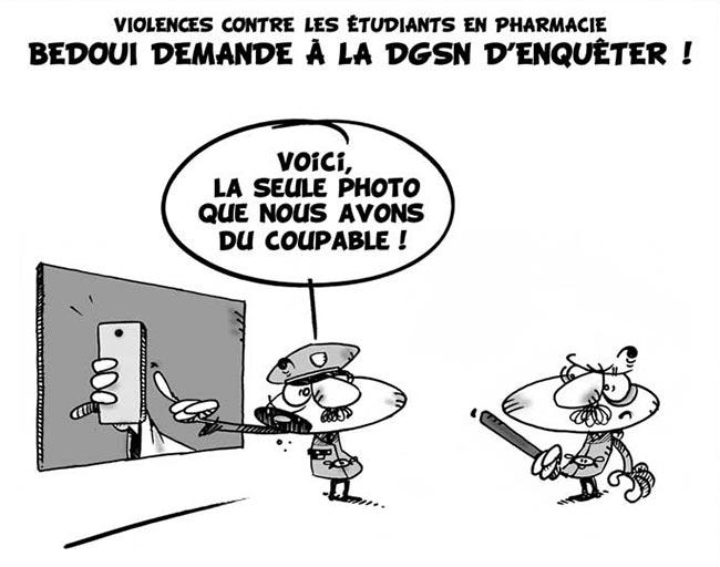 Violences contre les étudiants en pharmacie: Bedoui demande à la dgsn d'enquêter