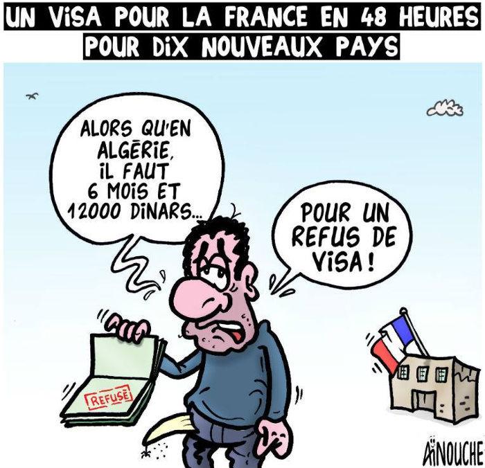 Un visa pour la France en 48 heures pour dix nouveaux pays