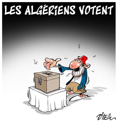 Les Algériens votent