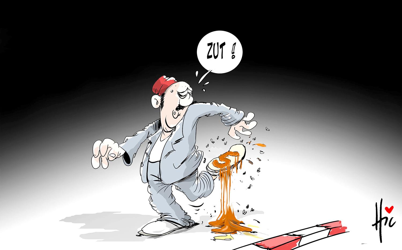 Ça sent le 5e mandat - Dessins et Caricatures, Le Hic - El Watan - Gagdz.com
