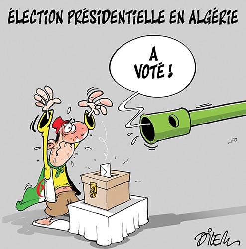 élection présidentielle en Algérie - élections 2019 - Gagdz.com