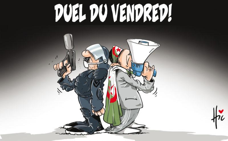 14e vendredi de Hirak : duel - Dessins et Caricatures, Le Hic - El Watan - Gagdz.com