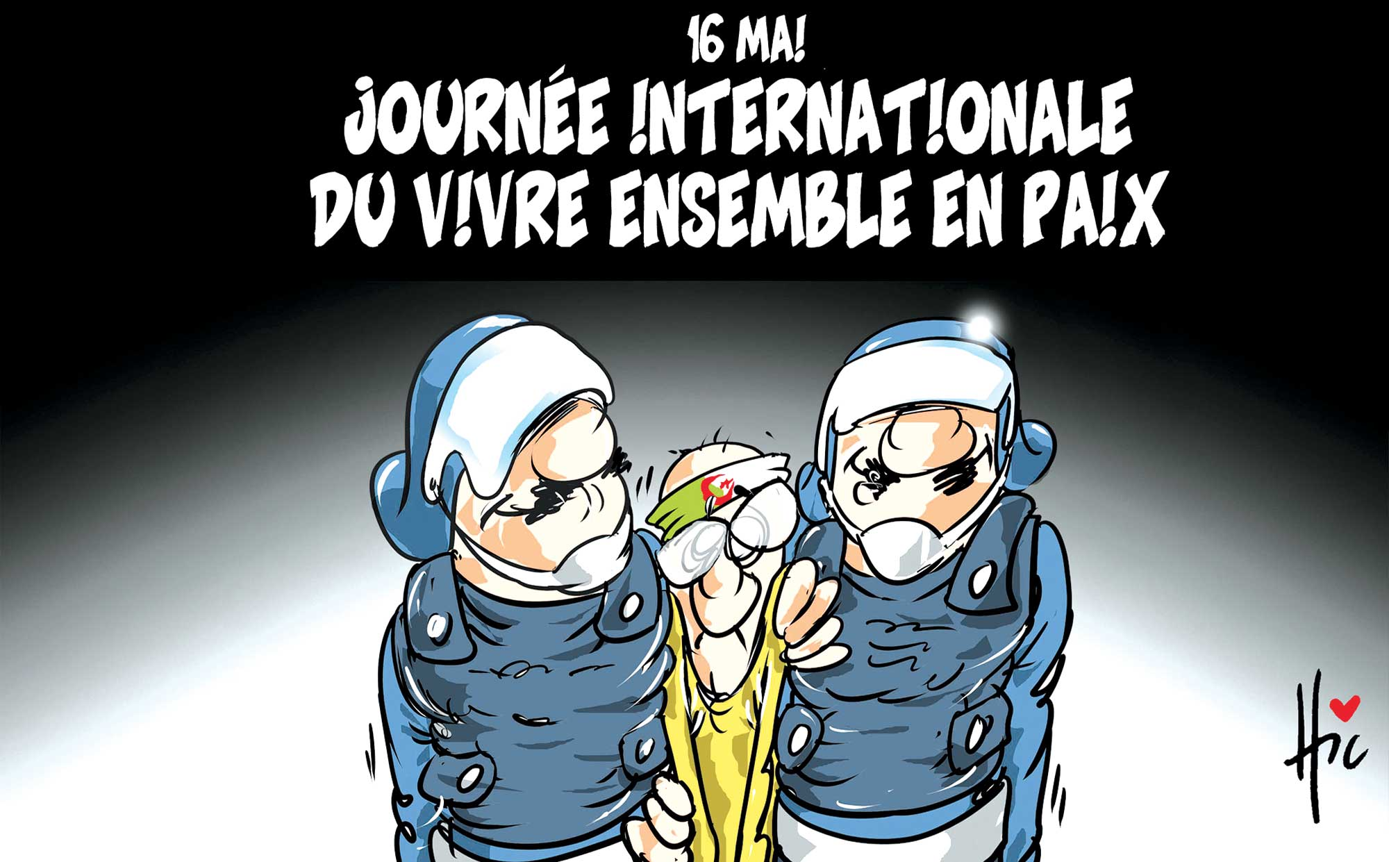 16 mai journée internationale du vivre ensemble en paix - hirak - Gagdz.com