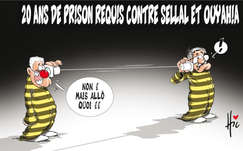 20 ans de prison requis contre Sellal et Ouyahia - Dessins et Caricatures, Le Hic - El Watan - Gagdz.com