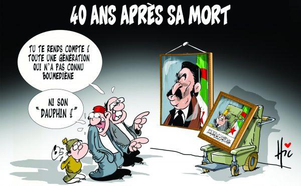 40 ans après la mort de Boumediene - Dessins et Caricatures, Le Hic - El Watan - Gagdz.com