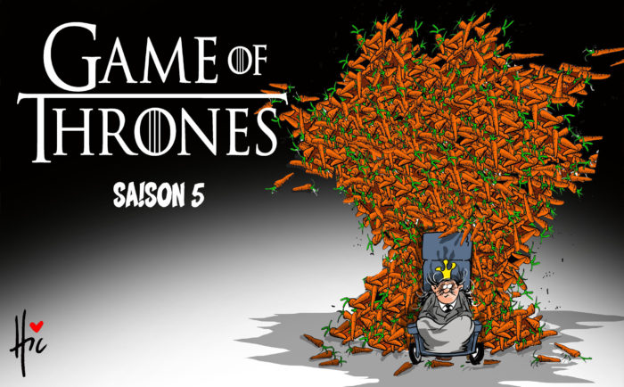 5e mandat de Bouteflika : Game of Thrones saison 5 - Dessins et Caricatures, Le Hic - El Watan - Gagdz.com