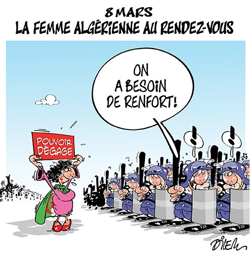 8 mars : la femme algérienne au rendez-vous - journée de la femme - Gagdz.com