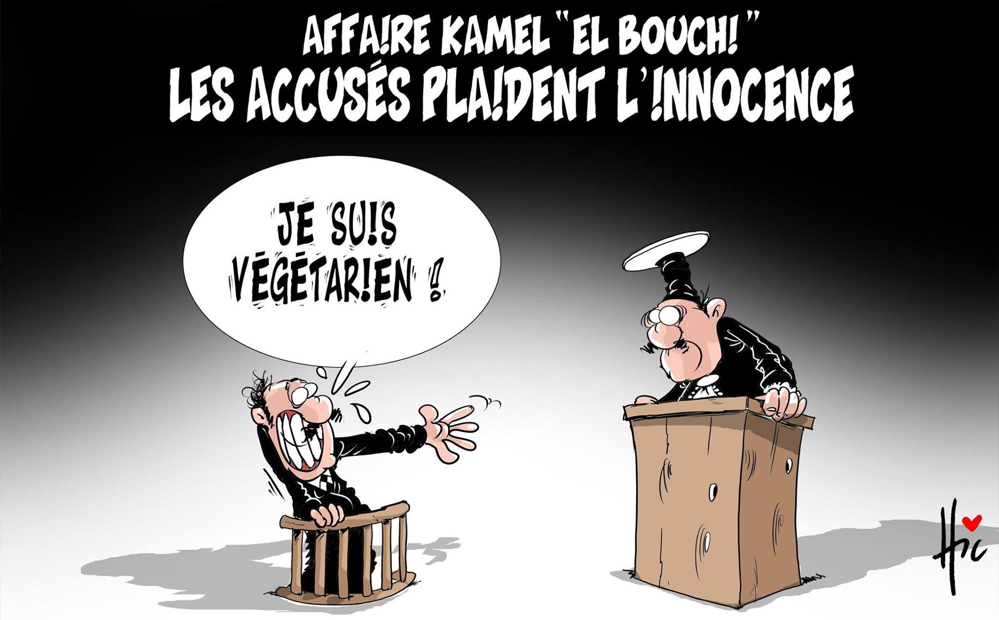 Affaire Kamel el bouchi : les accusés plaident l'innocence - Kamel el bouchi - Gagdz.com