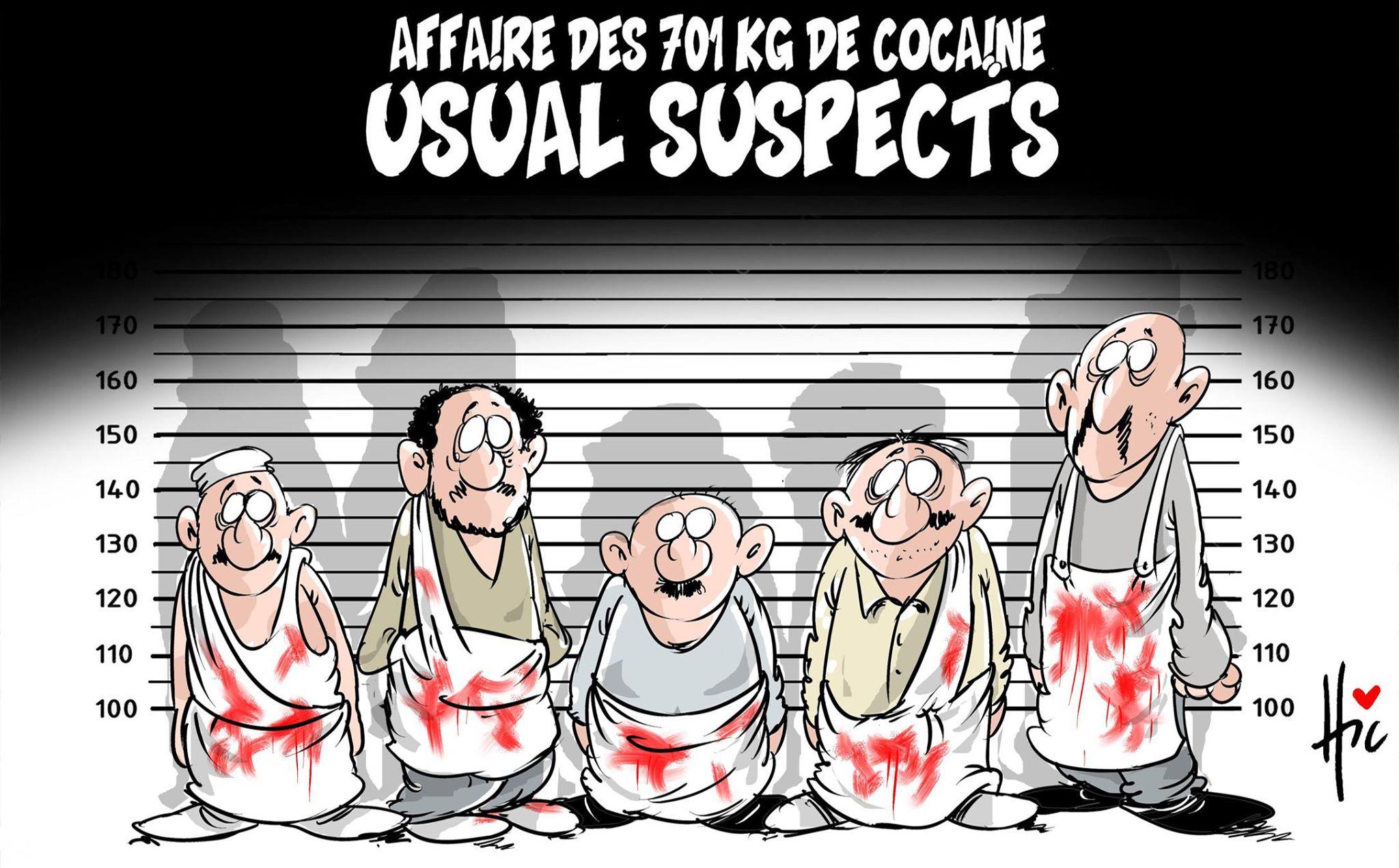 Affaire des 701 kg de cocaïne : Usual suspects - Kamel el bouchi - Gagdz.com