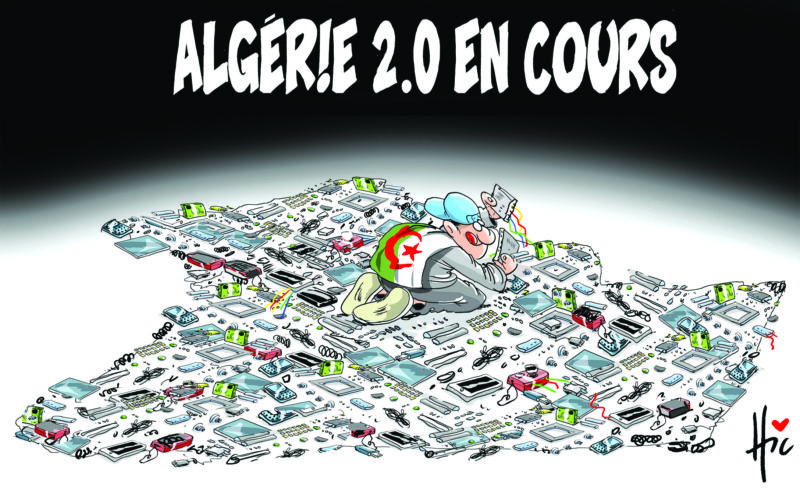Algérie 2.0 en cours - Dessins et Caricatures, Le Hic - El Watan - Gagdz.com