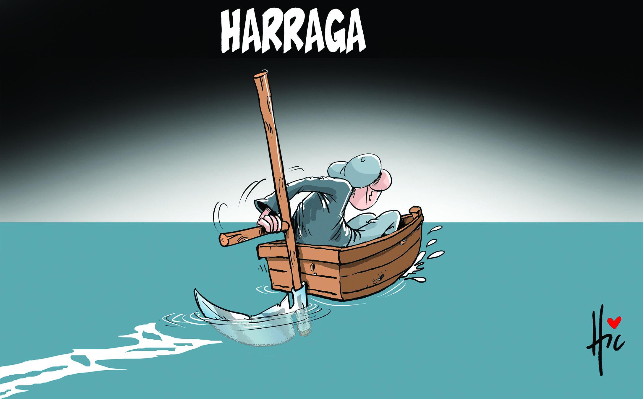 Algérie : les harraga reprennent le large - Dessins et Caricatures, Le Hic - El Watan - Gagdz.com