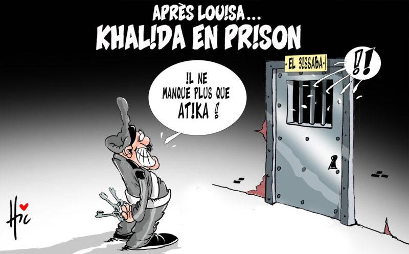 Après Louisa … Khalida en prison - Dessins et Caricatures, Le Hic - El Watan - Gagdz.com