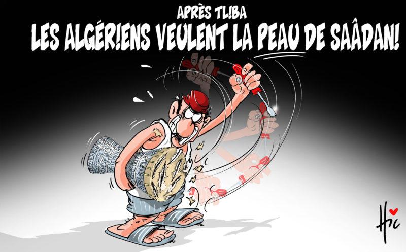 Après Tliba les algériens veulent la peau de Saadani - Saadani - Gagdz.com