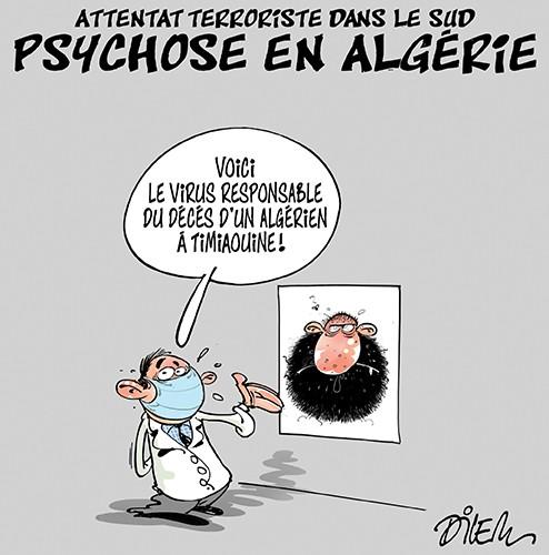 Attentat terroriste dans le sud. Psychose en Algérie - terrorisme - Gagdz.com
