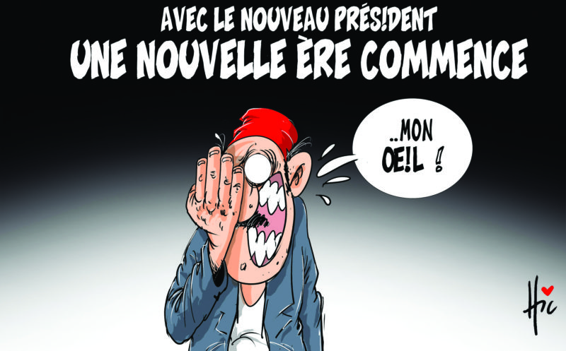 Avec le nouveau président : Une nouvelle ère commence - Dessins et Caricatures, Le Hic - El Watan - Gagdz.com