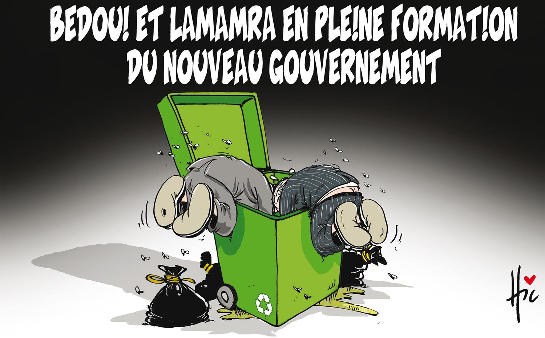 Bedou et Lamamra en pleine formation du nouveau gouvernement - Lamamra - Gagdz.com