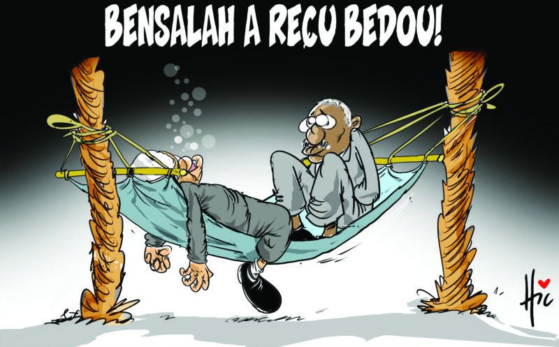 Bensalah a reçu Bedoui - Bensalah - Gagdz.com