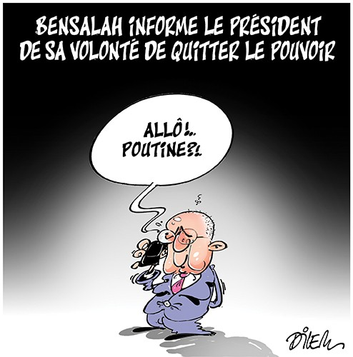 Bensalah informe le président de sa vonlonté de quitter le pouvoir - Bensalah - Gagdz.com